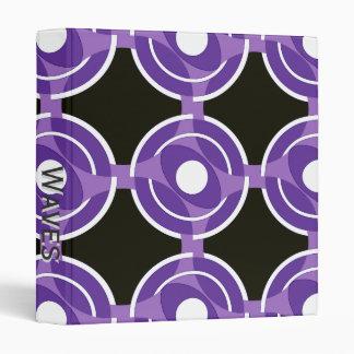 """Vejiga de la diana redonda (púrpura) carpeta 1"""""""