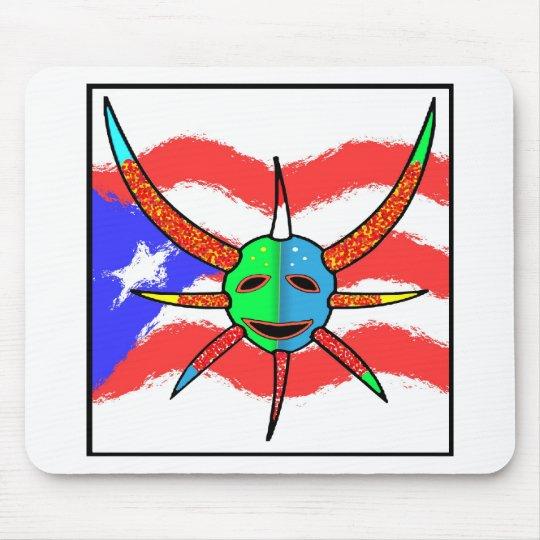 vejigante mask mouse pad