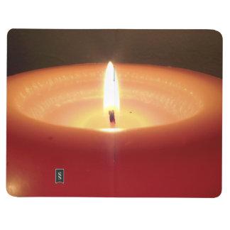Vela anaranjada de relajación 2 cuadernos grapados