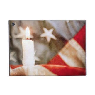 Vela conmemorativa con la bandera iPad mini coberturas