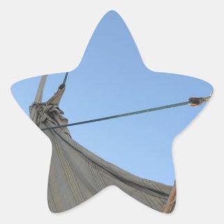 Vela de Felucca Calcomanias Forma De Estrella