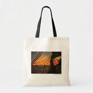 Vela de la puesta del sol bolsas