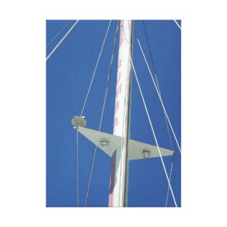 Vela del catamarán impresión en lienzo estirada