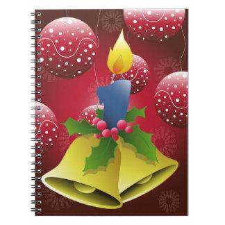 Vela del navidad libros de apuntes