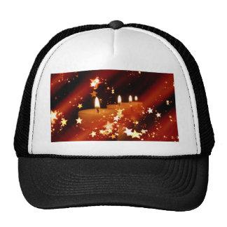 Vela del navidad gorras