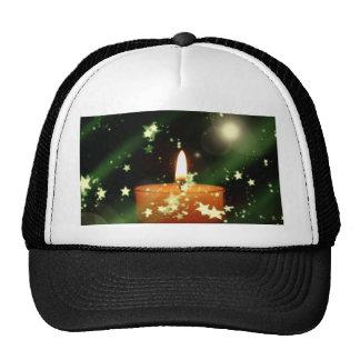 Vela del navidad gorras de camionero