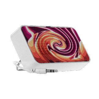 Vela en el viento (fuschia) laptop altavoces