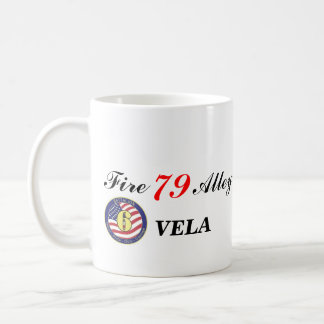 VELA, Fire, Alley, 79, Fire , Alley, ... Coffee Mug