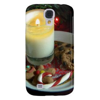 Vela III de la galleta del navidad Funda Samsung S4