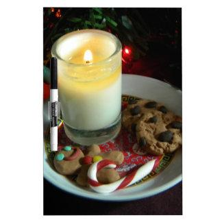 Vela III de la galleta del navidad Pizarra