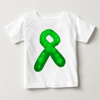 Vela verde de la cinta de la conciencia playera de bebé