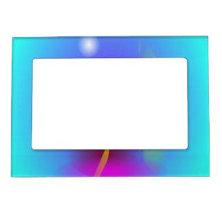 Vela y rezo marcos magnéticos de fotos