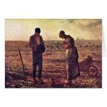 Velada de oración por el mijo (la mejor calidad) tarjeta