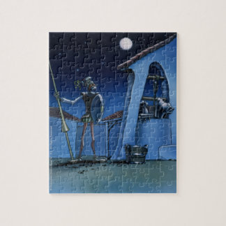 Velando armas - Don Quijote Jigsaw Cartoon Jigsaw Puzzle