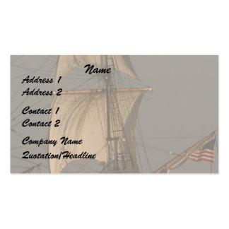 Velas de Cipper/tarjeta de visita de la bandera Tarjetas De Visita