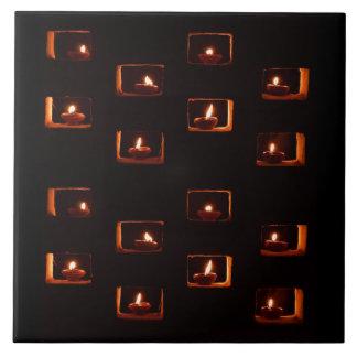 Velas de Diwali Tejas Cerámicas