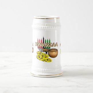 Velas de Kwanzaa - Jarra De Cerveza