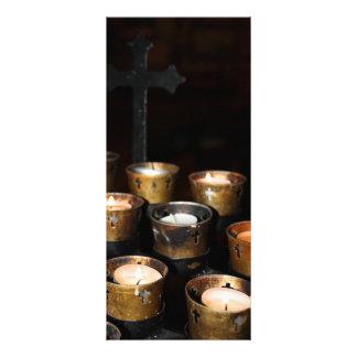 Velas de la iglesia plantillas de lonas