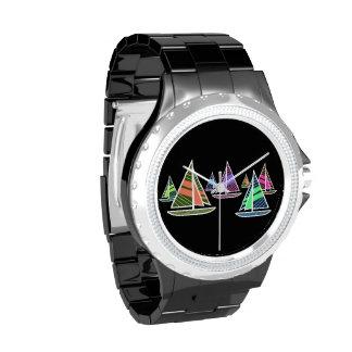 Velas de neón relojes de mano