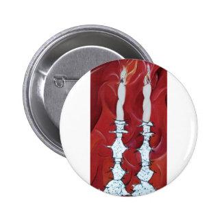 Velas de Shabbat Pins