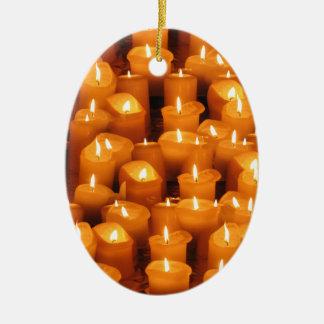 Velas del navidad del advenimiento ornamentos de navidad