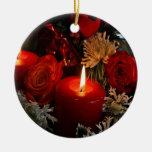 Velas del navidad ornamentos para reyes magos