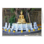 Velas para Buda Tarjeta