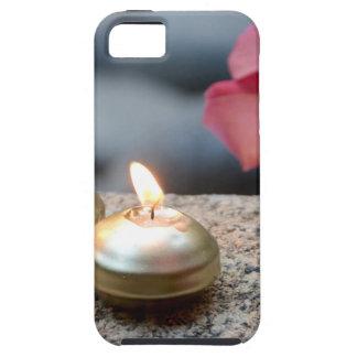 Velas y agua iPhone 5 protector