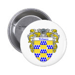 Velasco Coat of Arms (Mantled) Pinback Buttons