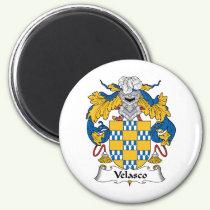 Velasco Family Crest Magnet