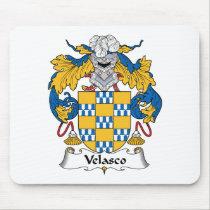 Velasco Family Crest Mousepad