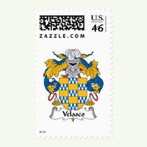 Velasco Family Crest Stamps