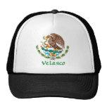 Velasco Mexican National Seal Mesh Hats