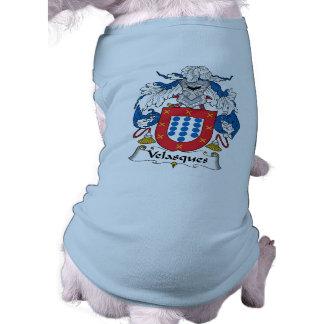 Velasques Family Crest Pet Clothes