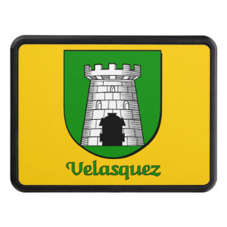 Velasquez Family Shield Hitch Cover