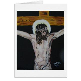 Velazquez Crucifixion study card