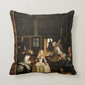 Velazquez Las Meninas Throw Pillows