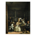 Velázquez Las Meninas Postcard