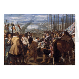 Velazquez-The Surrenderof Breda Card