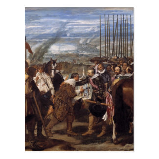 Velazquez-The Surrenderof Breda Postcard