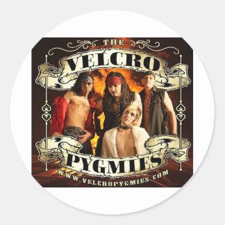 Velcro Pygmies Classic Round Sticker