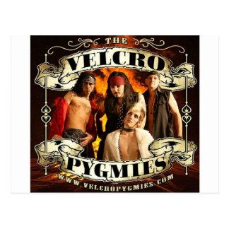 Velcro Pygmies Postcard