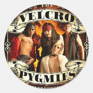 Velcro Pygmies Round Sticker