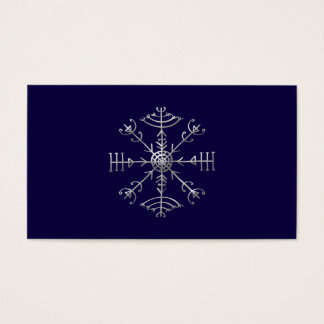 Veldismagn, Iceland, Protection, Rune, Magic Business Card