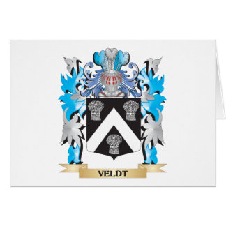 Veldt Coat of Arms - Family Crest Stationery Note Card