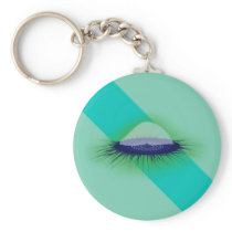 Velella (Green Glowing) Keychain