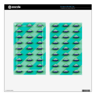 Velella (Green Glowing) Skins For Kindle Fire