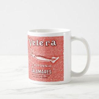 velera vintage label mugs