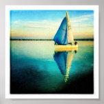 velero azul posters