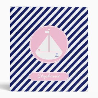 """Velero azul y rosado carpeta 1"""""""